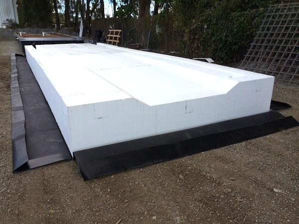 how to build block foam surf board